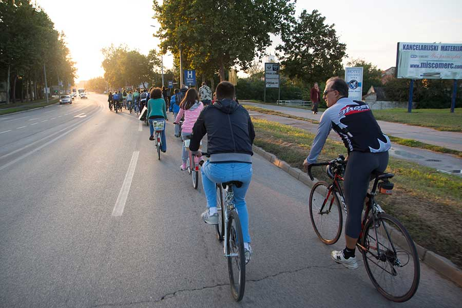 The Regional Center for the Development of Bicycle Tourism has been opened